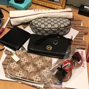 Gucci , MK , Coach,wallet,perfume, sunglass,Ring